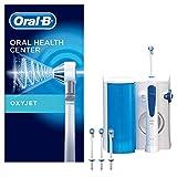 Oral-B Oxyjet Idropulsore con Sistema Pulente, 4 Testine di Ricambio Oxyjet