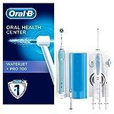Oral-B Waterjet Sistema Pulente Idropulsore + Spazzolino Elettrico Ricaricabile Pro 700