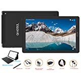 GOODTEL Tablet 10 Pollici Tablet Android 8.0 4G con 3 slot (Dual SIM + SD) Processore Quad Core, 1.5GHz 3G + 32GB Doppia Fotocamera WiFi Bluetooth GPS