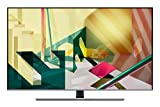 Samsung TV QE75Q74TATXZT Serie Q70T Modello Q74T QLED Smart TV 75', con Alexa integrata, Ultra HD 4K, Wi-Fi, Silver, 2020, Esclusiva Amazon