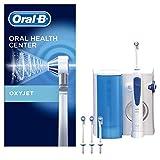 Oral-B Oxyjet Idropulsore con Sistema di Pulizia in Profondità e Tecnologia con Microbollicine, 4 Testine