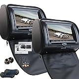 poggiatesta auto con 7 pollici Dual DVD