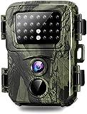 SuntekCam Mini Fotocamera Caccia Fototrappola 20MP 1080P HD con rilevatore di movimento per la caccia alla fauna selvatica per la visualizzazione dell'osservazione della (scheda SD inclusa da 8 GB)