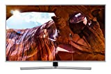 Samsung UE55RU7450UXZT Smart TV 4K Ultra HD 55' Wi-Fi DVB-T2CS2, Serie RU7450 2019, 3840 x 2160 Pixels, Argento (Silver), [Esclusiva Amazon]