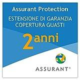 2 anni garanzia estesa per un elettrodomestico per la pulizia da 350 EUR a 399,99 EUR