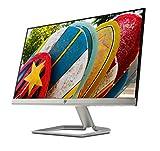 HP 22FW Monitor, Schermo IPS Full HD, 22', 1920 x 1080, Micro-Edge, Tecnologia AMD FreeSync, Modalità Low Blue Light, Antiriflesso, Tempo di Risposta 5 ms, Comandi su Schermo, Reclinabile, Nero