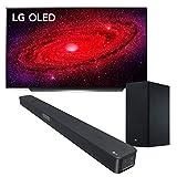 LG OLED TV AI ThinQ OLED65CX6LA.APID, Smart TV 65'', Processore α9 Gen3 con Dolby Vision IQ / Dolby Atmos, Compatibile NVIDIA G-Sync, Google Assistant e Alexa integrati, inclusa Soundbar SL5Y 2.1ch