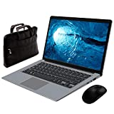 Notebook Portatile 14,1 ' Inter  MEBERRY - Ultrasottile Windows 10 PC Portatile : 4 GB RAM & 64 GB Memoria - WI-FI 802.11AC | Bluetooth 4.0 | Aux 3.5mm | USB 3.0 / 2.0 | HDMI Plastica Grigio