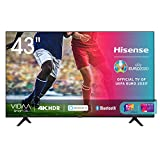 Hisense 43AE7000F, Smart TV LED Ultra HD 4K 43', HDR 10+, Dolby DTS, con Alexa integrata, Tuner DVB-T2/S2 HEVC Main10 [Esclusiva Amazon - 2020]