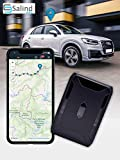 Salind 11 GPS-Localizzatore gps per auto, moto e molto altro-Calamita incorporata: un fissaggio sicuro!-fino a 90 giorni di batteria (modalità standby)–GPS Tracker con tracciamento in tempo reale