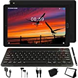 GOODTEL Tablet 10 Pollici Tablet Android 8.1 4G con 3 slot (Dual SIM + SD),1.5GHz 32GB ROM + 3GB RAM Processore Quad Core, 64GB Espandibili, Doppia Fotocamera WiFi Bluetooth GPS, Nero