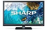 Sharp Aquos 24BB0E - 24' HD Ready LED TV, DVB-T2/S2, 1366 x 768 Pixels, Nero, 2xHDMI 1xUSB, 2020 [Classe di efficienza energetica A]