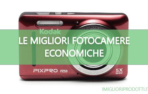 Fotocamere economiche
