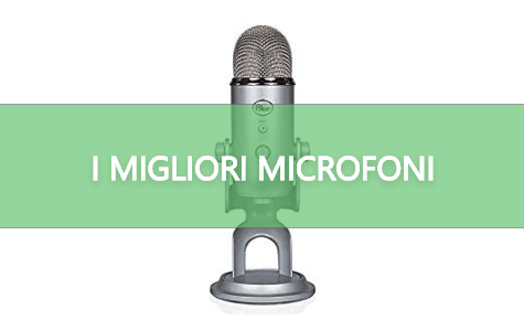 I MIGLIORI MICROFONI