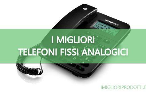 I migliori telefoni fissi analogici