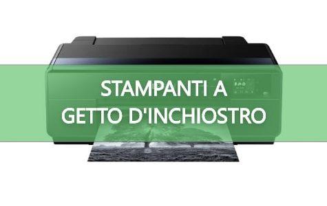 Stampanti getto inchiostro
