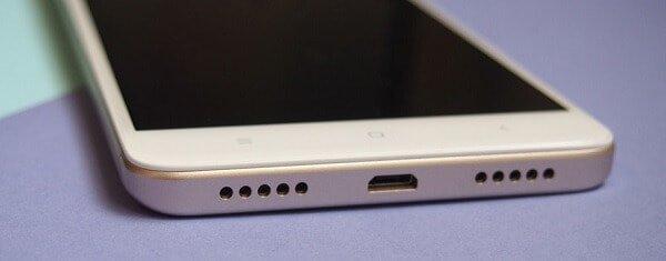 ingresso alimentazione Xiaomi Redmi Note 4X