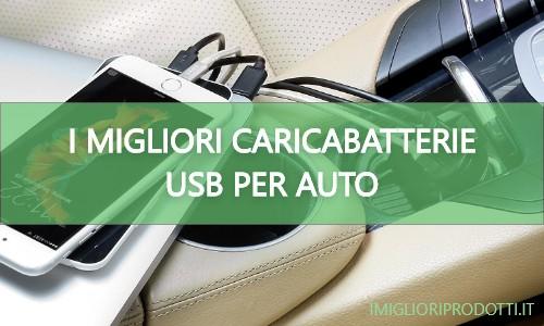 Warxin Caricabatterie da Auto USB Mini Alluminio Caricatore Adattatore Universale per iPhone iPad Samsung Huawei Xiaomi Smartphone Tablet ECC Caricabatteria per Auto 2 Porte 24W 4.8A