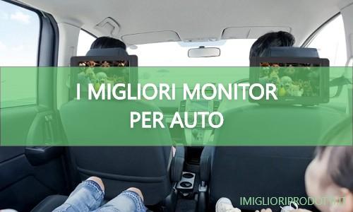 migliori monitor per auto