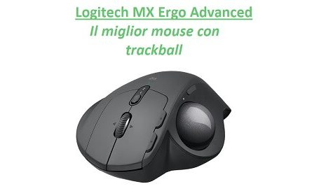 mouse Logitech MX Ergo Advanced trackball