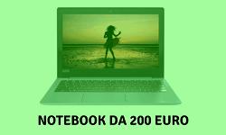 Notebook da 200 euro
